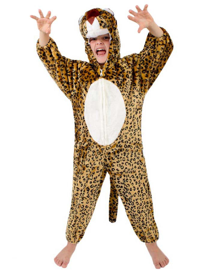 Kids Safari Costume- Full Body- Leopard CC-1022 Size S M L 2-8 years old u2013 Kid Inventor®  sc 1 st  Kid Inventor & Kids Safari Costume- Full Body- Leopard CC-1022 Size S M L 2-8 ...
