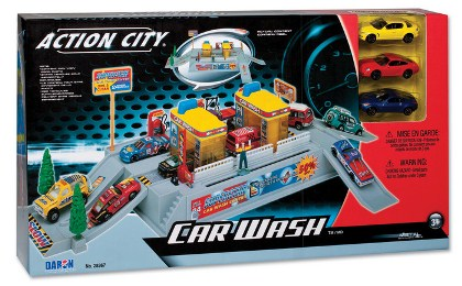 Toy State Emergency City Vehicles Set Of 10 Police Fire