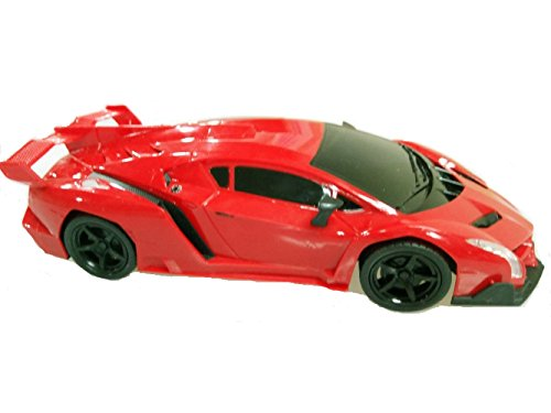 1 16 Scale Rc Red Lamborghini Roadster Remote Control Model Radio