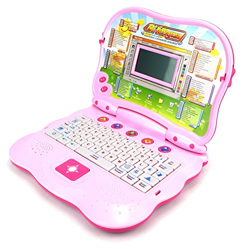 2 in 1 Bilingual Study Machine Educational Toy Laptop for ...