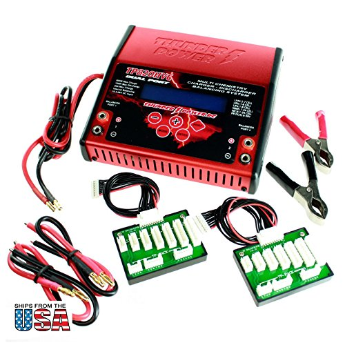 Battery Charger For Professional RC LiPo 1300 1800 2100 ...