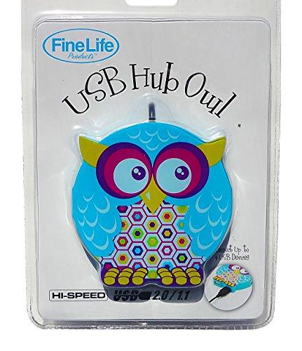 Best Owl USB Hub Computer Earbuds Gift Set Teenage Girl Electronic