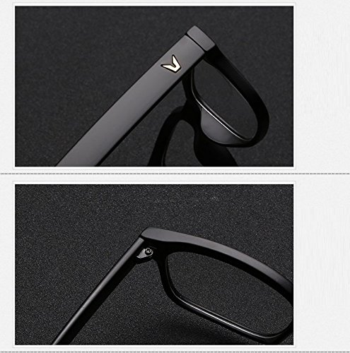 bdb66dfac16b Cyxus Blue Light Filter  Better Sleep  Block UV Transparent Lens Black  Frame Vintage Glasses