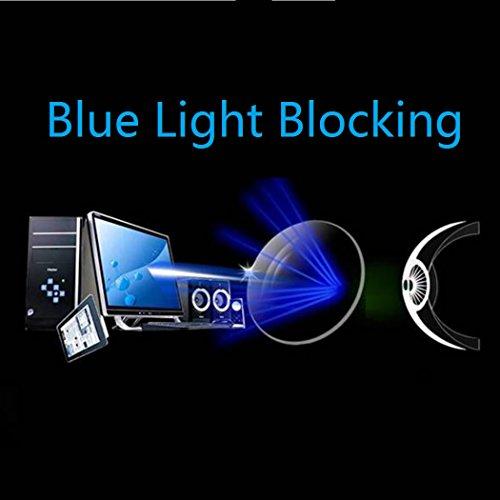 a13be92d67 Cyxus-Blue-Light-Filter-UV-Blocking-Glasses -Clip-On-Anti-Eye-Strain-Sleep-Better-Anti-Glare-ComputerCell-PhonePC-GameTV-Safety- Protection-Block-Radiation- ...