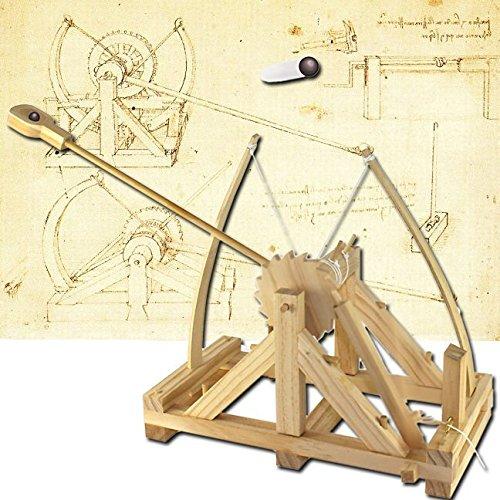 Da Vinci Catapult Kit Wood
