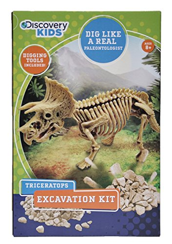 Discovery Kids Dinosaur Excavation Kit - Triceratops