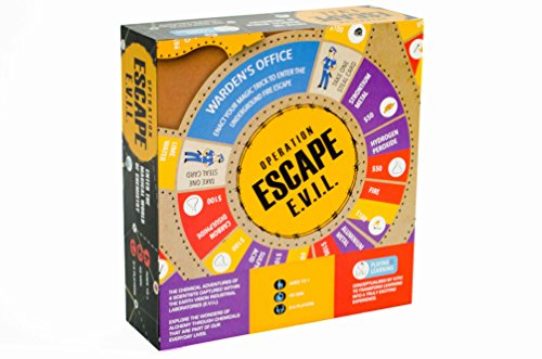 Geek Toys Science : Escape evil fun educational board games stem toys on