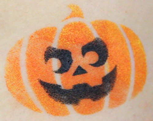 Face paint stencil kit halloween pumpkin painting for kids Easy pumpkin painting patterns