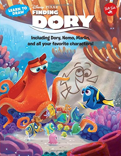 Learn To Draw Disney Pixars Finding Dory
