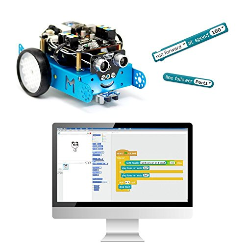 Makeblock mBot - Premium Quality - STEM Education - Arduino - Scratch 2 0 -  Programmable Robot Kit for Kids to Learn Coding, Robotics and Electronics