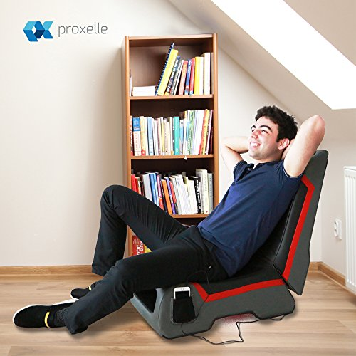 Groovy Proxelle Video Game Chair Dual 3W Speakers Ps4 Ps3 Ps2 Xbox One Xbox 360 Nintendo Wii Connect Through Tv Dvd Ipod Iphone Android And Mp3 Inzonedesignstudio Interior Chair Design Inzonedesignstudiocom