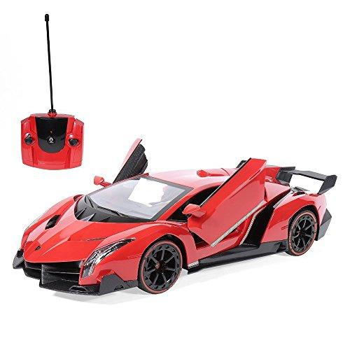 Rw Radio Remote Control Lamborghini Veneno 1 14 Scale Rc Car Red