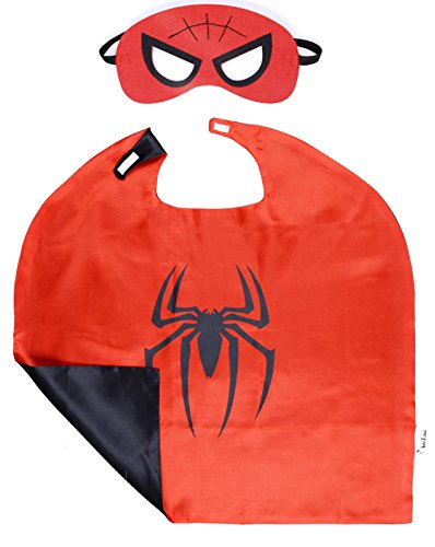 Superhero cape and mask costumes for