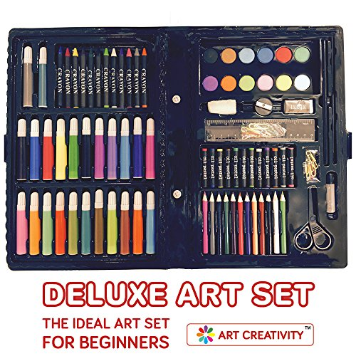Deluxe Art Set For Kids By Art Creativity The Ideal Art Set For