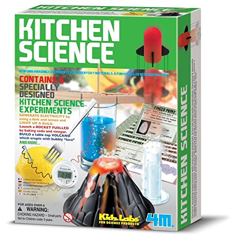 Universal Specialties Tin Can Robot 3 Pack Magnet Science Gift Bundle Kitchen Science