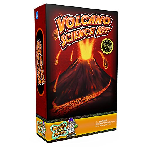 how to make a volcano erupt for school project
