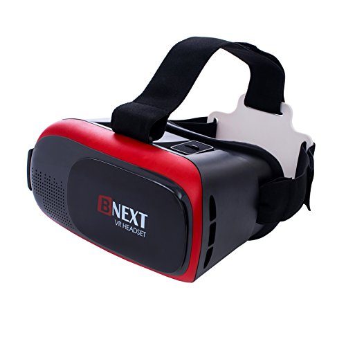 19ef3a93a62 3D VR Headset Virtual Reality Glasses for iPhone   Android – Play Your Best  Mobile Games   360 Movies With Soft   Comfortable New Goggles Plus Special  ...