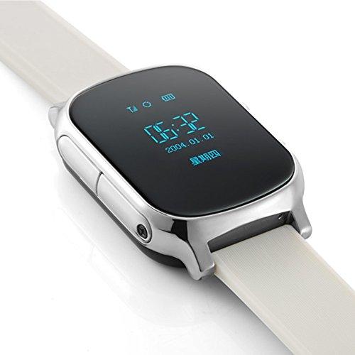 Dreamclub Waterproof Gps Tracker Locator Bracelet Watch