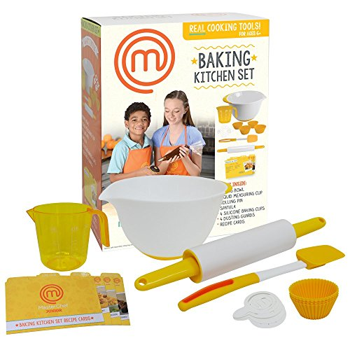 Masterchef Junior Baking Kitchen Set 7 Pc Kit Includes Real