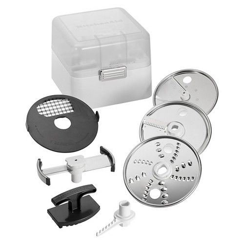 N KitchenAid Food Processor Attachment Accessory Kit- KSMFPAEP