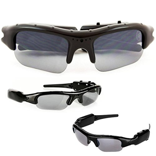 165a0765bf9 SpyCrushers Spy Video Glasses & Camera Glasses, Best Wireless Hidden Camera  and Recording Sunglasses Available, Features Video Recorder, Photo & PC  Webcam, ...
