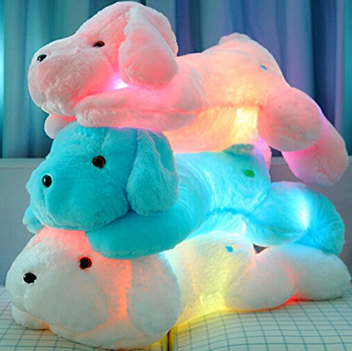 Wewill Brand Creative Night Light Led Stuffed Animals Lovely Dog