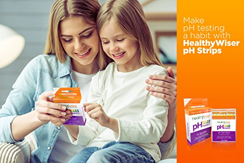 pH Test Strips 120ct - Tests Body pH Levels for Alkaline & Acid levels  Using Saliva and Urine  Track and Monitor Your pH Balance & A Healthy Diet,  Get