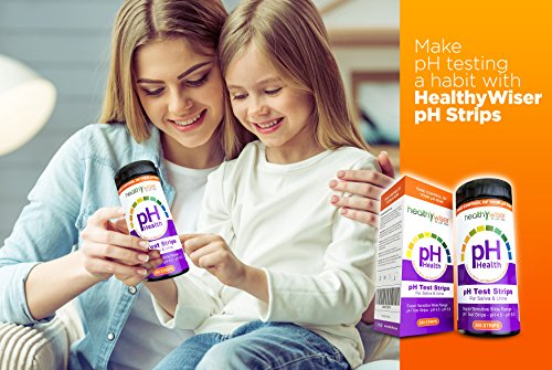 pH Test Strips 200ct - Tests Body pH Levels for Alkaline & Acid levels  Using Saliva and Urine  Track and Monitor Your pH Balance & A Healthy Diet,  Get