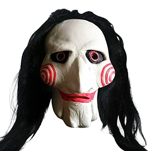 Scary Wizard Ghost Full Face Latex Mask Halloween Carnival Party Costume Kit