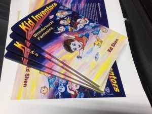 Kid Inventors, a FUN Educational Comic Book for your kids in this Summer!